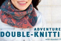 Double knitting / Double-knit items of all descriptions!