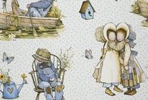 Vintage Childrens Fabric Design Inspo / by Gaena