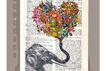 DIY crafts-scrapbook-calligraphy
