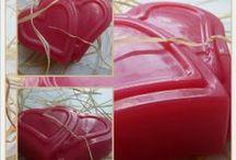Glycerinová mýdla / Mýdla domácí výroby.