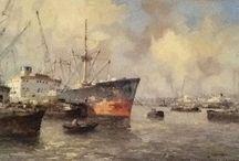 de Jongere, Marius / De Rotterdamse havenschilder