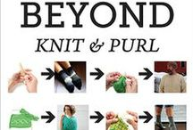 Beyond Knit and Purl / Patterns from the book Beyond Knit and Purl by Kate Atherley,  cooperativepress.com / by Cooperative Press