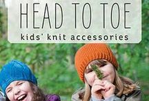 Head to Toe: Kids' Knit Accessories / Knitting patterns from the book Head to Toe: Kids' Knit Accessories, by Katya Frankel. In this charming follow-up to her acclaimed Boys' Knits, Katya Frankel shows once again just how perfectly she understands kids' tastes. Whether you are knitting for girls or boys or both, you will find plenty of great-looking, quick-to-knit, easy-to-wear projects to keep your small people cozy. www.cooperativepress.com / by Cooperative Press