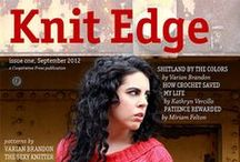 Knit Edge Magazine, Issue One / Patterns from Knit Edge Magazine, Issue One by Cooperative Press, www.knitedgemag.com, Published in September 2012 / by Cooperative Press