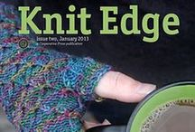 Knit Edge Magazine, Issue Two / Knit Edge Magazine, Issue Two, knitedgemag.com published in January 2013 / by Cooperative Press