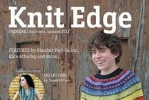Knit Edge Magazine, Issue Zero / Knit Edge Magazine, Issue Zero, by Cooperative Press knitedgemag.com / by Cooperative Press