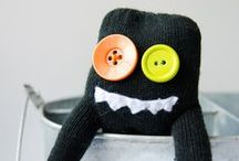 Made from Socks :) / Crafts - all things made from socks / by Patti Blogs