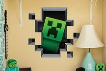 Minecraft / Things to make, crafts etc to fuel our kids Minecraft addiction. / by Patti Blogs