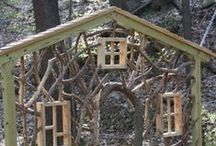 Enchanted childrens garden / Wonderful ways to make your garden an enchanted wonderland for the kids