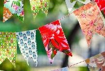 Scrap Fabric Crafts / Great things you can make out of pieces of scrap fabric / cloth. For kids & adults, the home or for gifts / by Patti Blogs