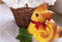 Bunny shaped food / All kinds of rabbit shaped foods for your little bunny lovers or maybe your big bunnies too!