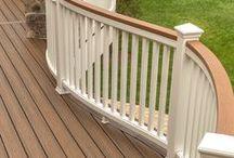 Deck Design / From simple decks to extravagant designs.