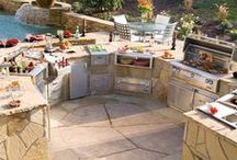 Outdoor Kitchen + Grilling