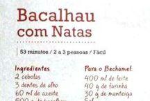 Receitas - Bacalhau
