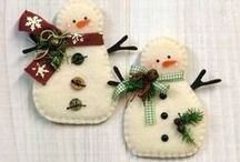 Christmas / Festive crafts of all descriptions for the most special time of the year.