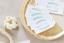 Inspirations Mariage / Personnaliser votre mariage grâce aux différents supports proposés par Avery.  Pour rendre cet évènement unique et original Avery vous propose marques places, menus et étiquettes adhésives.  RDV sur www.avery.fr