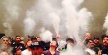 Vape _ Cloud-Formation, Vape-Trickz & Smoke-On / Alles was raucht dampft und aus allen Löchern röchelt is hier zu Hause ... :)