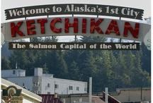 Fishing in Ketchikan, Alaska