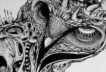 Drawings / Sketches/ Zentagles / Illustrations / Drawings