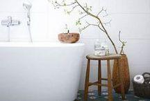Badrumstrender 2014 / Naturmaterial och naturfärger, matta ytor och allt mer vanliga möbler i badrummen, det tror vi på Gustavsberg är några av de hetaste trenderna för ditt badrum 2014. Låt detta album inspirera dig!