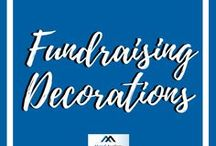 Fundraising Decorations / Here are lots of great fundraiser decorations ideas