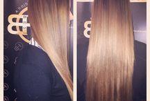 beauty, hair,hairextension / Hajhosszabbitas
