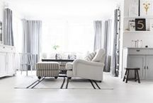 White Washed, Modern Vintage Decor / Rooms with a clean, white look that are more than vanilla.
