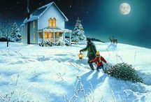 Christmas Scenes / Christmas Scenes by Weather Trends International: The global leader for YEAR-AHEAD weather forecasting. We hope this collection of Heart touching Christmas Scene's makes you smile. Help yourself to anything you like. Jody