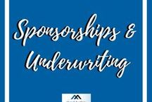 Sponsorships and Underwriting