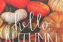 AUTUMN / Ideas and things I like :) !