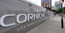 Advertising Hoarding & Signage | The Corniche / Like what you see? Talk to us about your next brand activation project today. www.octink.com