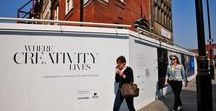 Advertising Hoarding | Fitzroy Place for Exemplar / For more examples of work please visit www.octink.com