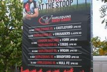 Display Graphics | Harlequins Rugby Club / For more examples of work please visit www.octink.com