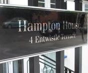 Signage | Hampton House / Like what you see? Talk to us about your next brand activation project today. www.octink.com