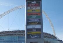 Signage | Wembley / To keep up to date with latest projects visit www.octink.com