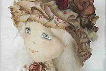 Cloth dolls by Julia Moiseenko / Текстильные куклы Юлии Моисеенко