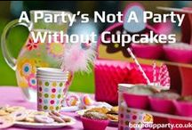 Cupcake Party / Inspiration and party ideas for your cupcake themed party.