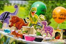 Dinosaur Party / Your dinosaur party will be a roaring success with these inspirational pins.