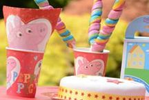 Peppa Pig Party / Peppa Pig party inspiration.