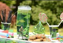 Camouflage Party / Camouflage or army themed party inspiration.
