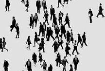 c r o w d / People, Crowd, human, city