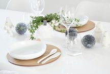 * Table Setting * / Ideas for the table.