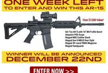 WIN THIS AR-15 / Hurry to enter and WIN this AR-15! http://www.patriotoutfittersguns.com/