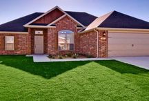 Adorable Lowell home, The Mesa, #lowellarcustomhome / House built in Lowell AR features 3 bedroom 2 bath 2 car garage