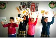 Cheeky Monkey Kids 2014-2015 / Çocuklarımızin okuldaki cesitli fotolari...
