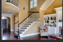 Stairs / Interior stairs, newel post, balusters, rails, treads