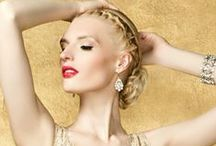 ✿⊱ Fashion: GOLD ⊱✿ / ✫¸.•*.´¨`*•.♥: Please Pin Respectfully ´✫¸.•*.´¨`*•.♥  / by ❃ Lizzy Brown ❃