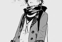 Anime Fashion. / Fashion in anime - mainly men's.