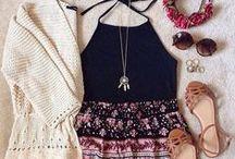 Fashion. / Girls' fashion!  ♥.