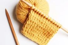 Points tricot - Knitting stitches / knitting stitches tutorials by Trust the Mojo tutoriels points de tricot